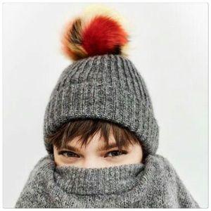 🎈SALE🎈NO OFFERS! Zara Pompon Hat